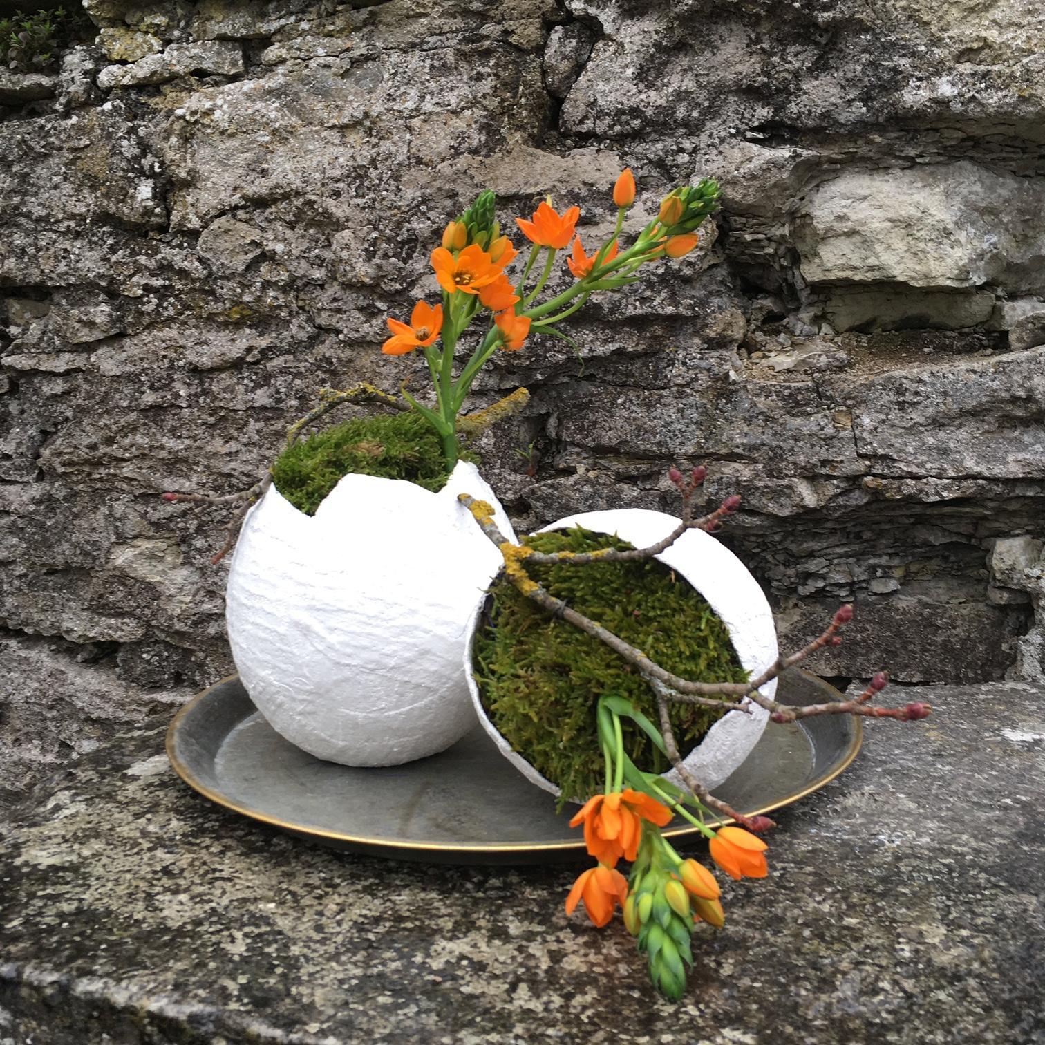 floristika, florist, lilleseade, Hiiumaa ametikool, kevadseade, kipsivorm, floristi koolitus
